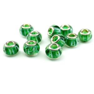 Шам зелёный волновой #6313