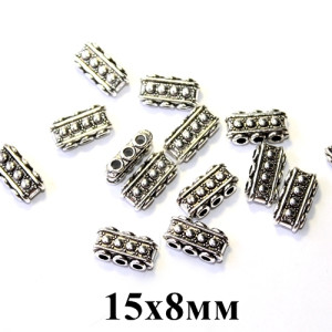 Коннектор для шнуров 15х8 на 3 #5307