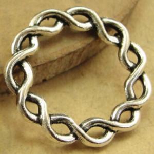 Плетённое кольцо 20мм #1766