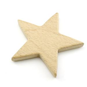Грызунок из берёзы 75х75 Звезда #11344