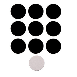 Магнит на клеевой основе Круглый, d=2см, 10 шт #5943