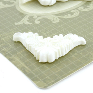 Декоративные 3D элементы 5шт Ангел #10319