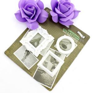 Декоративные 3D элементы 3шт Рамка для фото #10322