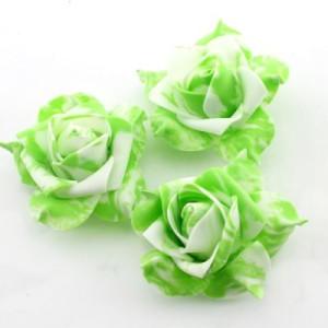 Декоративные цветы 7х7х3 см Зеленые #2672