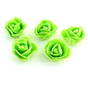 Цветы D=35 в сетке Зелёные #5506