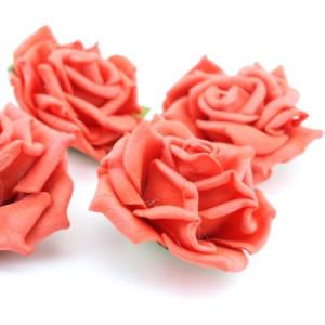 Цветы D=70 Красные #4699