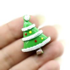 Кабошон Новогодняя Ёлка #5404