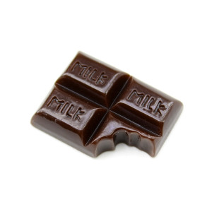 Кабошон Надгрызанная шоколадка #5843