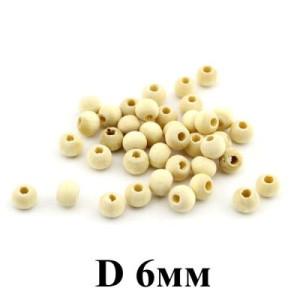 Бусины D=6, 1гр (16 шт) #4044