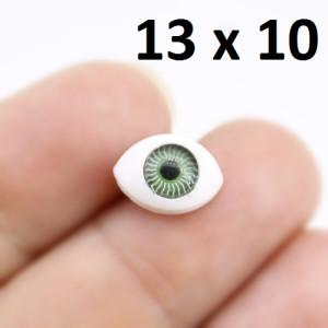 Глаза для кукол 13х10мм #2003