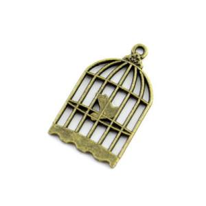 Подвеска Птица в клетке #5051