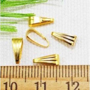 Держатель для кулона 8 мм Золото #1522