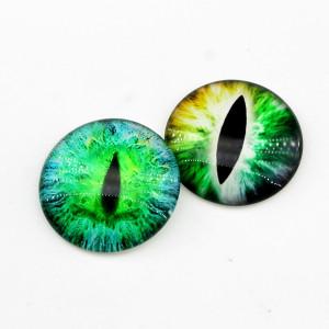 Кабошоны МИКС Глаза D=30 мм, 1 шт #5210