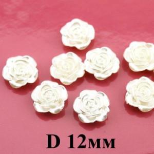 Роза D=12 Кремовая #4137