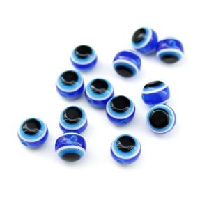 Бусины Глаза D=10, 1шт Синие #5968