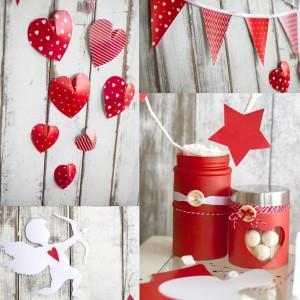 Наборы для декора праздников «Я тебя люблю» #11231