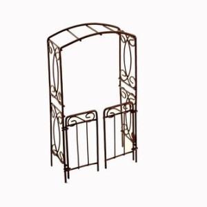 Металлический мини балкончик коричневый #10139