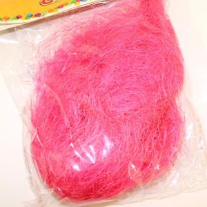 Наполнитель Сизаль 35гр Розовый #10523