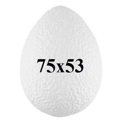 Яйцо из пенопласта 75х53