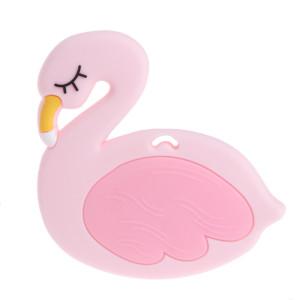 Силиконовый грызунок Лебедь #10552