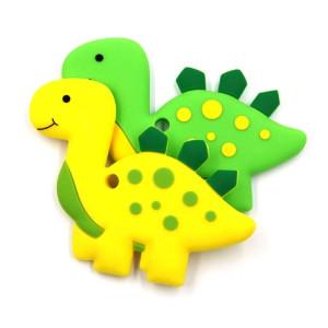 Силиконовый грызунок Динозаврик #10554