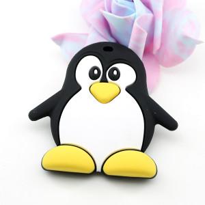 Силиконовый грызунок Пингвин #11347