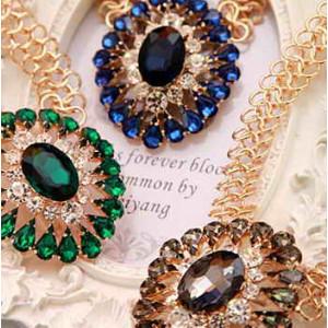 Дизайнерское ожерелье #5747 Серое
