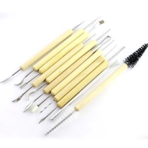 Набор проф. инструментов для лепки 11шт #5074