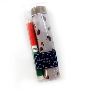 Набор (2 цвета + иголки+метр+упаковка) #10487