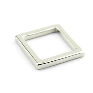 Кольцо Квадрат #5974 Серебро