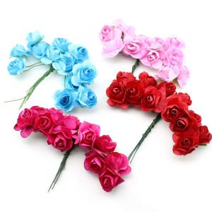 Связка из цветов 12шт #11686