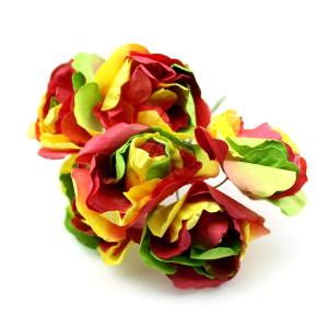 Связка из радужных цветов 6шт #11691