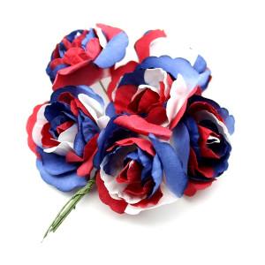 Связка из радужных цветов 6шт #11693