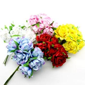 Связка из цветов 6шт #11706