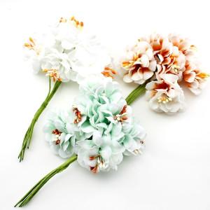 Связка из цветов с тычинками  #11707