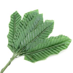 Связка из листиков 1,8х11мм 10шт Зелёные #11687