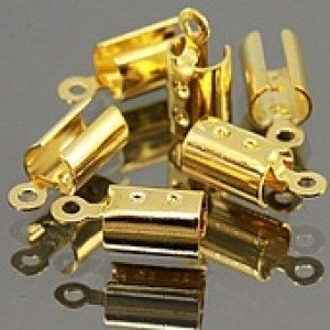 Концевики-Зажимы 8х3 мм #1519