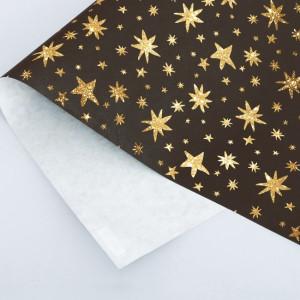 Бумага упаковочная крафтовая Star, 50х70 см #10766