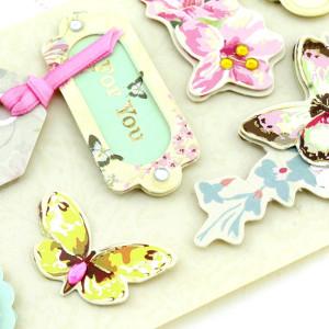 Декоративные 3D наклейки Flowers Тип4 #10385