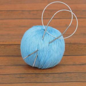 Спицы для вязания круговые d=2 мм, 10/40 см #12020