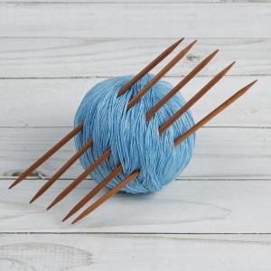 Спицы для вязания, чулочные, 15см, d=3,5мм, 5шт #12022