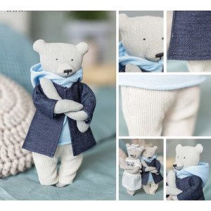 Мягкая игрушка «Домашний медведь Эштон» #11196