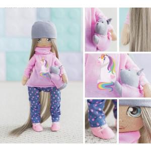 Интерьерная кукла «Лора», набор для шитья #11213