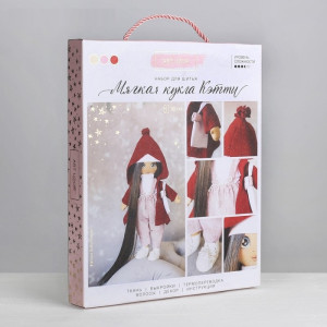 Интерьерная кукла «Кэтти», набор для шитья #11214