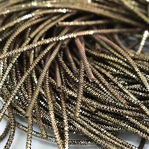 Канитель 1мм 05698 античное золото трунцал 5гр #11727
