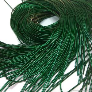 Канитель мягкая 1мм 5гр Зелёная #12169