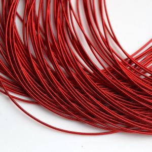 Канитель мягкая 1мм 5гр Красная #12170