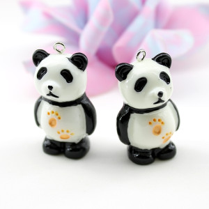 Подвеска Панда с лапками #5617
