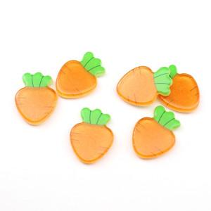 Кабошон Морковка #5688