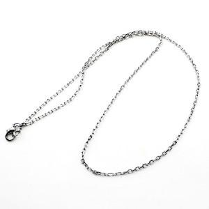 Основа-цепочка 44см 2,5мм Тёмное серебро #6299
